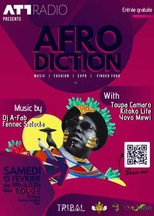 Afrodiction – Music, fashio, expo…