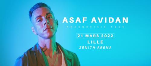 Asaf Avidan – L'Anagnorisis Tour au Zénith de Lille