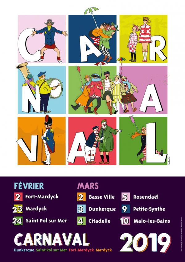 Les dates du Carnaval de Dunkerque 2019