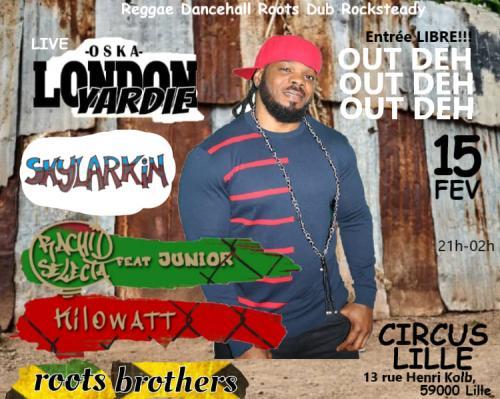 Soirée jamaïcaine au Circus