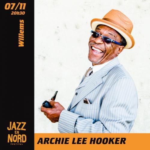 Archie Lee Hooker – Festival Jazz en Nord