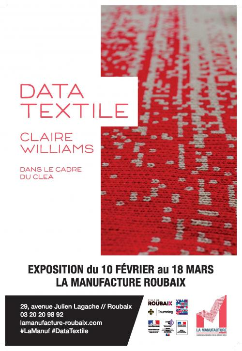 Data Textile par Claire Williams