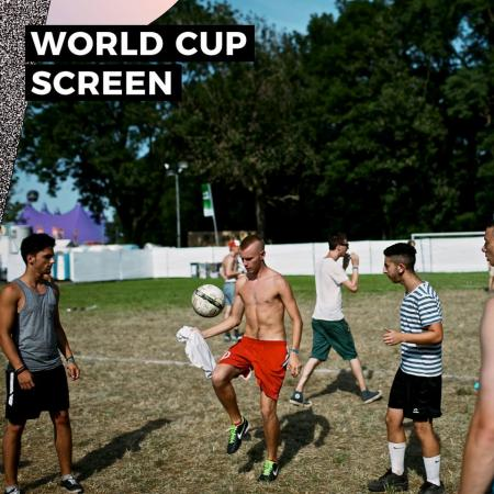 La Coupe du Monde au festival de Dour