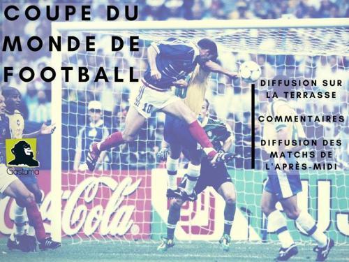 La Coupe du Monde au Gastama : une terrasse, des pronostics…