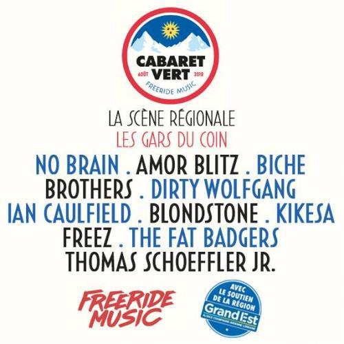 Qui sont «les gars du coin» au Cabaret Vert 2018 ?