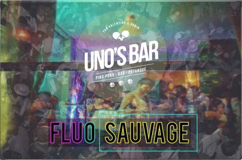 Fluo sauvage au Uno's Bar