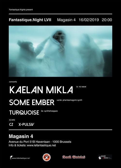 Kaelan Mikla + Some Ember + Turquoise