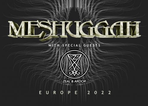 Meshuggah en concert à l'Aéronef