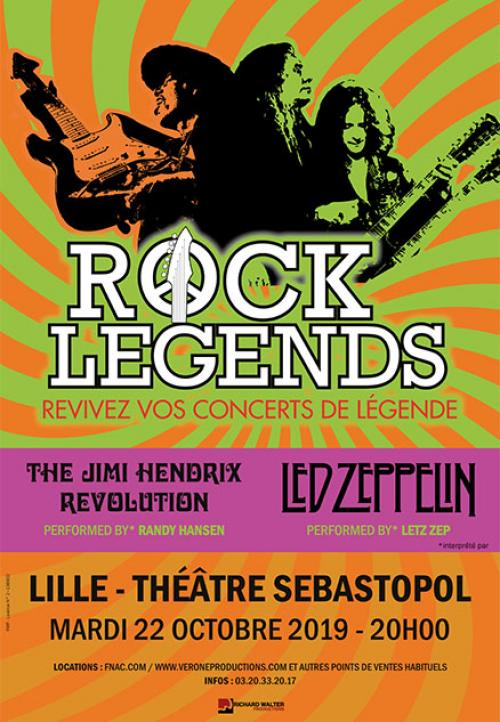 Rock Legends au Théâtre Sébastopol