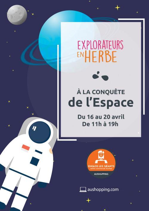Les enfants à la conquête de l'espace