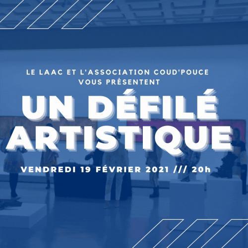 Défilé artistique – l'expo Gérard Deschamps, peinture sans peinture