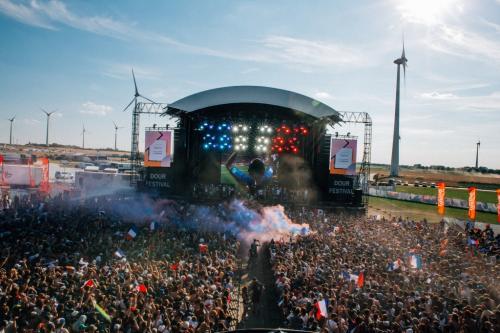 La finale de la Coupe du Monde France – Croatie au festival de Dour