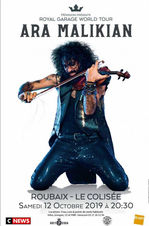 Ara Malikian, son Royal Garage Word Tour
