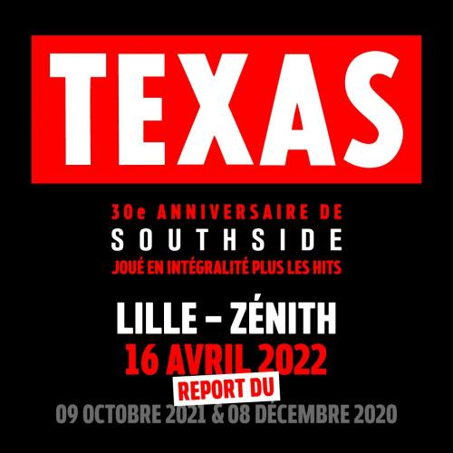 Texas au Zénith de Lille