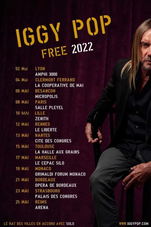 Iggy Pop au Zénith de Lille