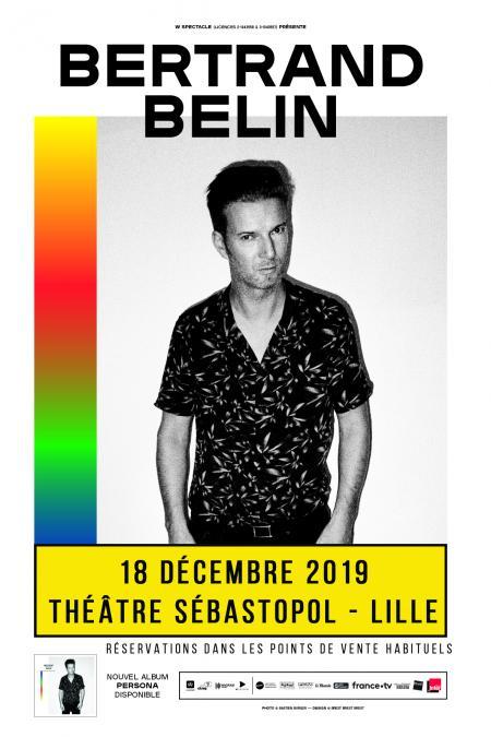 Bertrand Belin au Théâtre Sébastopol