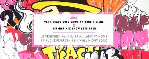 Vernissage Antoine Riviére au Labo@home