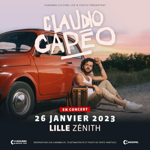 Claudio Capéo en concert au Zénith