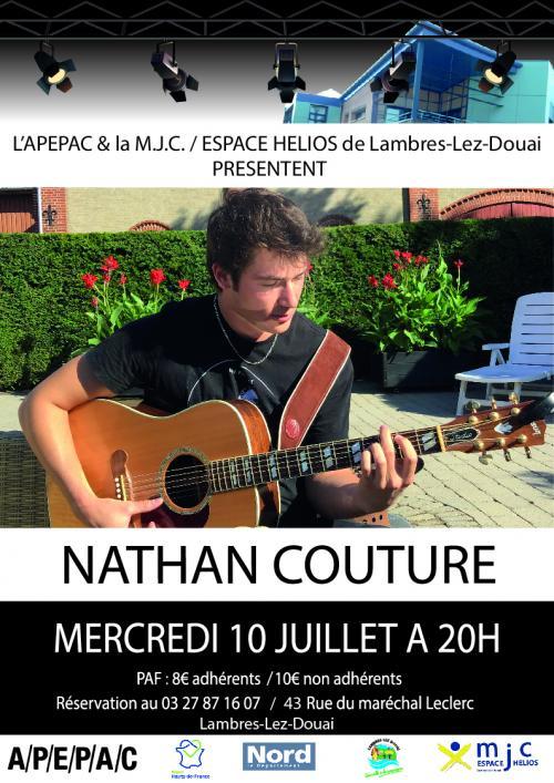 Nathan Couture en concert