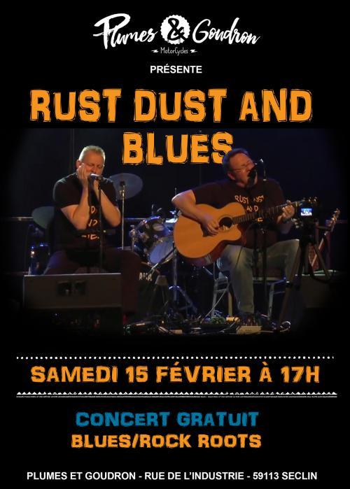 Rust Dust and Blues chez Plumes et Goudron