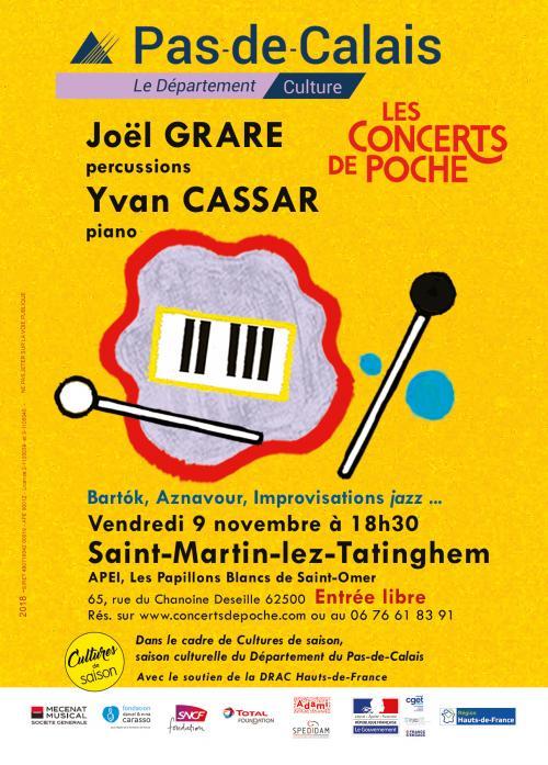 Joël Grare et Yvan Cassar – Saint-Martin-lez-Tatinghem