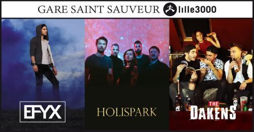 EFYX + Holispark + The DakenS