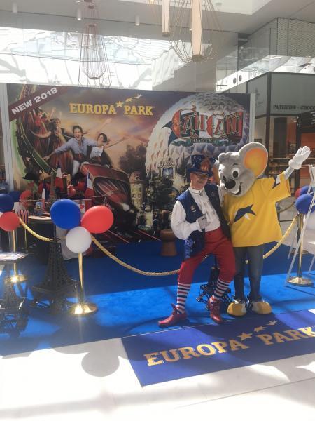 Europa-Park à Villeneuve d'Ascq pour présenter son nouveau Quartier Français