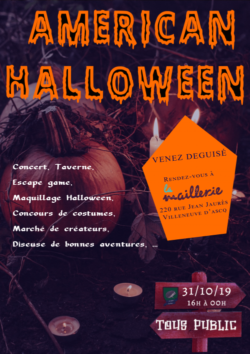 Halloween : concert, escape game, maquillage…