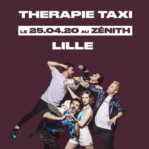 Therapie Taxi au Zénith de Lille