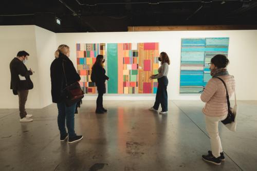 L'expo Matières Sensibles – Of materials and things