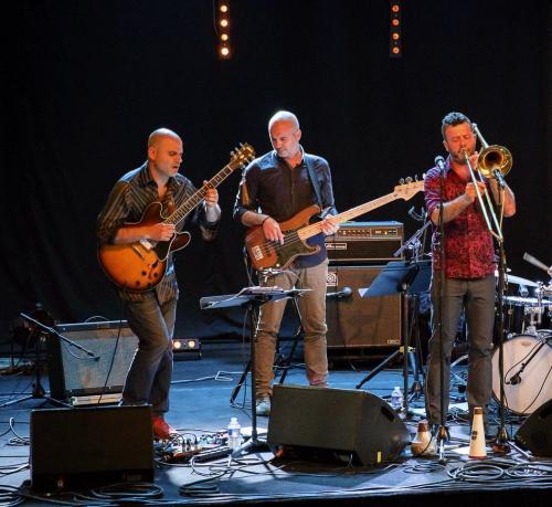Pierre Durand «Electric 4tet» invite Daniel Zimmermann pour les 40 ans du Jazz-club