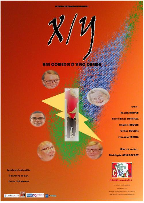 X contre Y, une comédie du Cancrefou