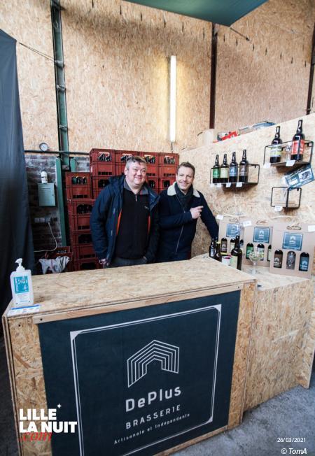 Brasserie DePlus – Passion bière, vélo et asso !