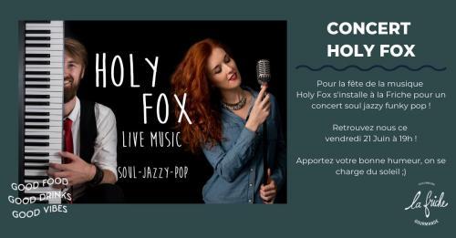 La Friche' reçoit Holy Fox pour la Fête de la musique
