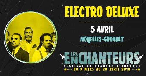 Festival Les Enchanteurs 2018 – Electro Deluxe