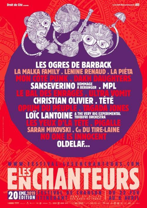 Violons Barbares – Festival Les Enchanteurs