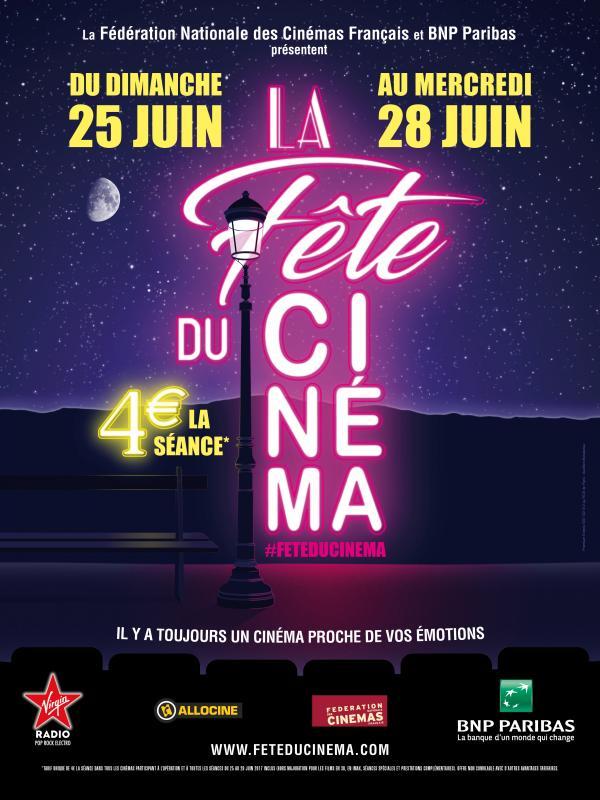 Après la Fête de la Musique, place à la Fête du Cinéma !