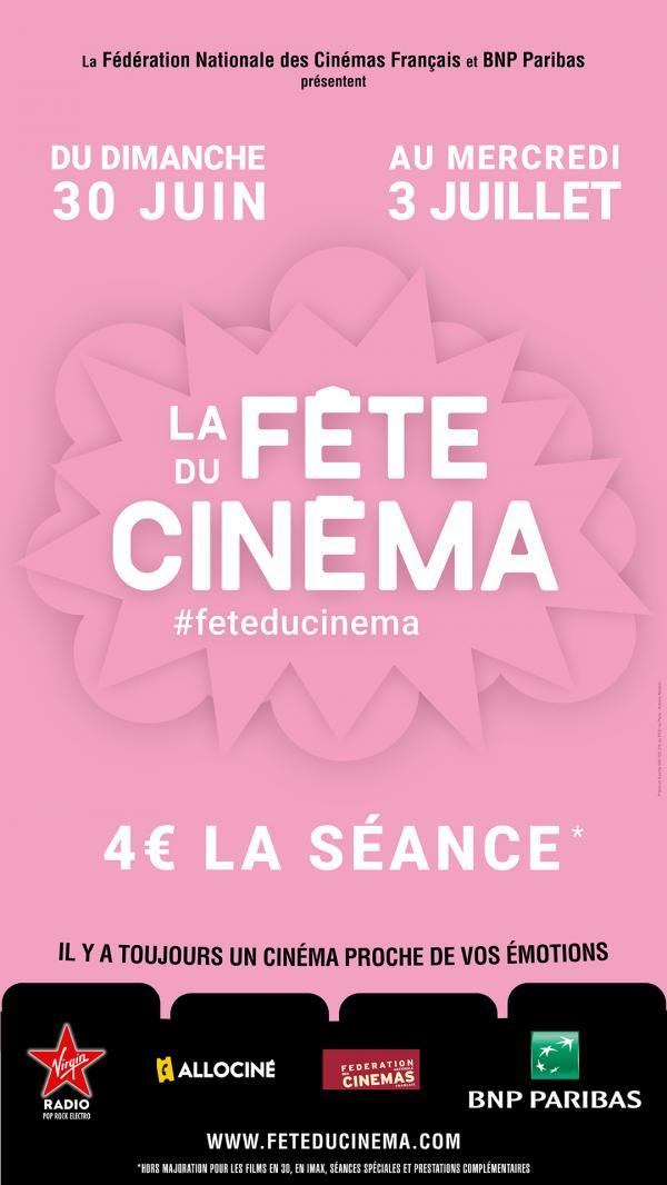Entamez l'été avec la Fête du Cinéma !
