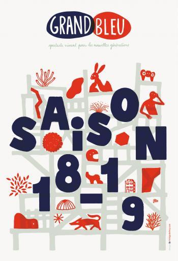 Le Grand Bleu, la saison 2018-2019 promet de beaux spectacles pour le jeune public