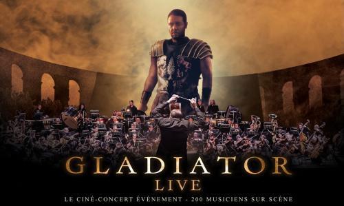 Gladiator Live en ciné-concert