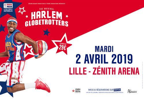 Rendez-vous avec les Harlem Globetrotters® au Zénith de Lille