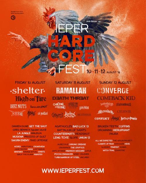 Ieper Hardcore Fest 2018