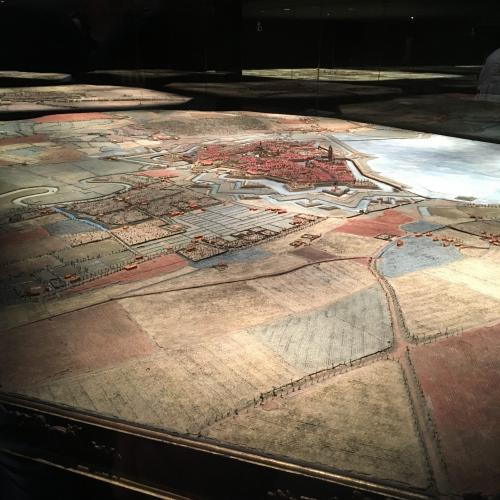 Les plans-reliefs du Palais des Beaux-Arts de Lille à (re)découvrir