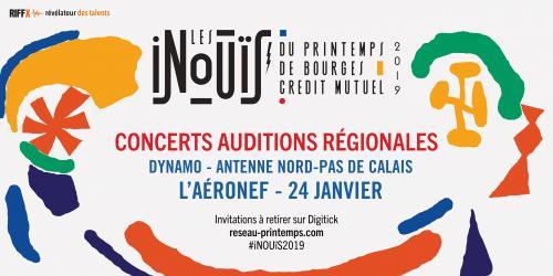 INOUïS 2019 – Audition Nord-Pas de Calais