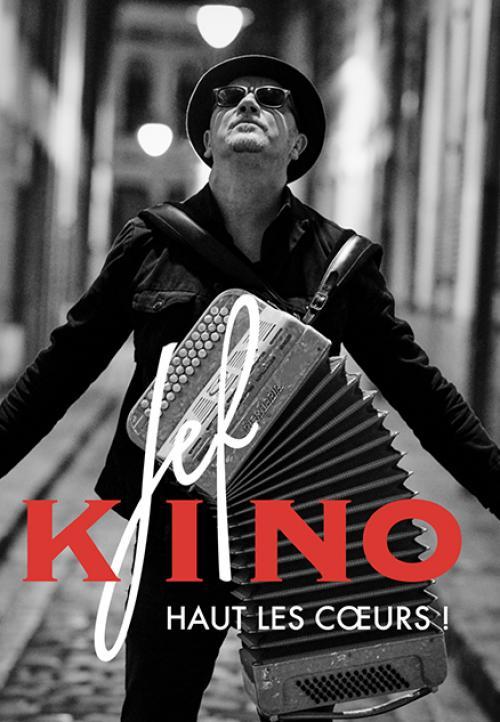 Jef Kino présente son nouvel album «Haut les cœurs»