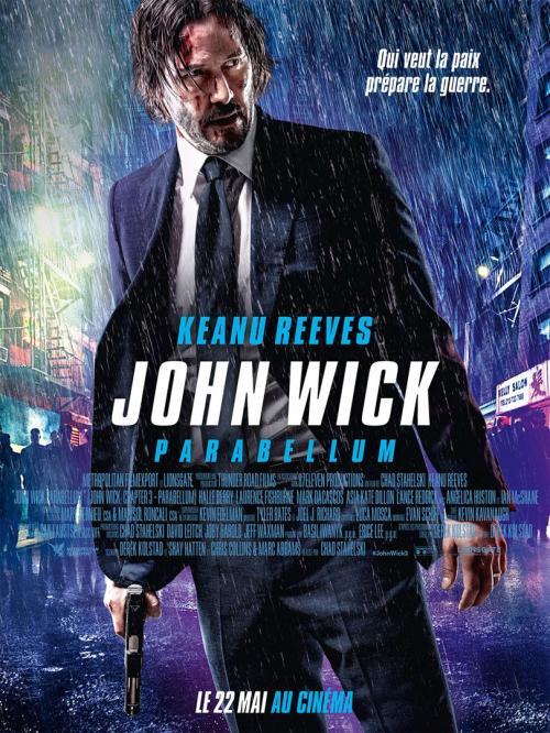 Marathon John Wick 1, 2 et 3