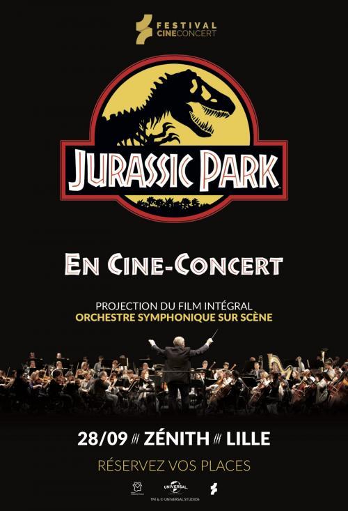 Jurassic Park en ciné-concert