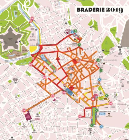 La Braderie de Lille 2019 : le plan, les courses, les inscriptions…
