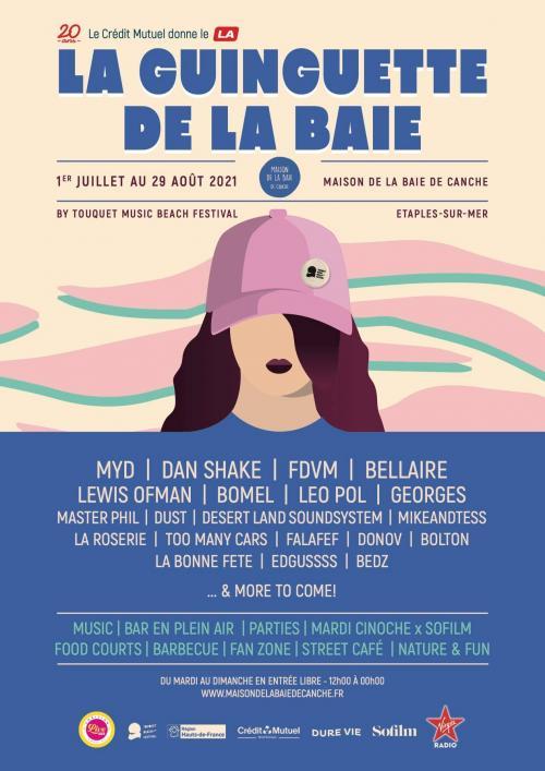 La Guinguette de la Baie animée par le Touquet Music Beach Festival