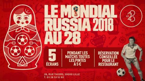 La Coupe du Monde au 28 : plutôt bar ou restaurant ?